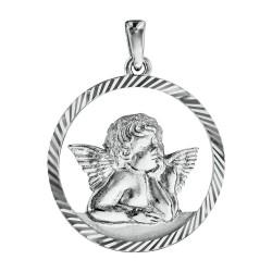 Médaille argent PENDENTIF...
