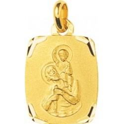 Médaille plaqué Médaille St...