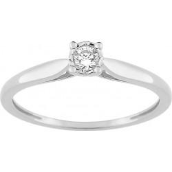 Bague or 375 diamant BAGUE...