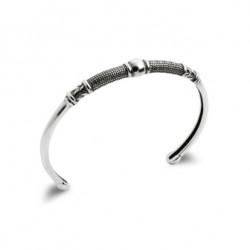 Bracelet argent JONC HOMME