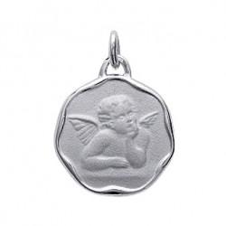 Médaille argent 925 RHODIE